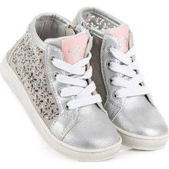 Buty dziecięce: Ażurowe trampki na suwak american CASEY