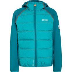 Regatta KIELDER HYBRID II UKUT Kurtka Outdoor enamel/aqua. Niebieskie kurtki chłopięce marki Regatta, z materiału, outdoorowe. W wyprzedaży za 181,35 zł.