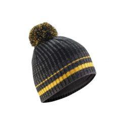 Czapka narciarska RIB. Czarne czapki damskie marki WED'ZE, w kolorowe wzory, z elastanu. Za 29,99 zł.