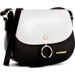 Torebka MONNARI - BAG1800-M20  Black. Czarne listonoszki damskie Monnari, ze skóry ekologicznej. W wyprzedaży za 129,00 zł.