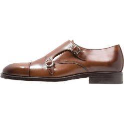 Zign Eleganckie buty cognac. Brązowe buty wizytowe męskie Zign, z materiału. Za 459,00 zł.