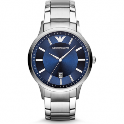 Zegarek EMPORIO ARMANI - Renato AR2477  Silver/Silver. Szare zegarki męskie Emporio Armani. Za 1249,00 zł.