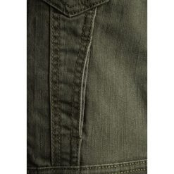 Benetton JACKET Kurtka jeansowa khaki. Brązowe kurtki męskie jeansowe marki Benetton. Za 149,00 zł.