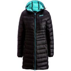 Swix Płaszcz Puchowy Romsdal Black/Tundra Blue M. Czerwone płaszcze damskie puchowe marki Cropp, na zimę, l. W wyprzedaży za 829,00 zł.