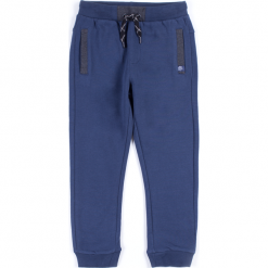 Spodnie. Niebieskie chinosy chłopięce BASIC BOY, z bawełny. Za 34,90 zł.
