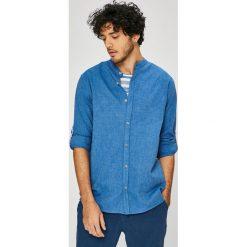 Medicine - Koszula On The Go. Szare koszule męskie na spinki MEDICINE, l, z bawełny, ze stójką, z długim rękawem. W wyprzedaży za 79,90 zł.