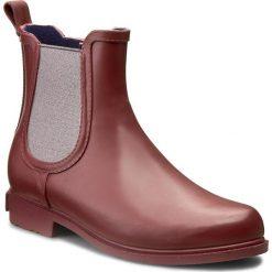 Kalosze MARC O'POLO - 608 13676701 802 Wine 385. Czerwone buty zimowe damskie Marc O'Polo, z materiału. W wyprzedaży za 209,00 zł.