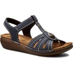 Rzymianki damskie: Sandały INBLU – CX11AQ15 Granatowy