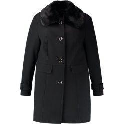 Płaszcze damskie pastelowe: Evans DOLLY COAT Krótki płaszcz black