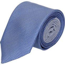 Krawat winman niebieski classic 202. Niebieskie krawaty męskie Recman. Za 129,00 zł.