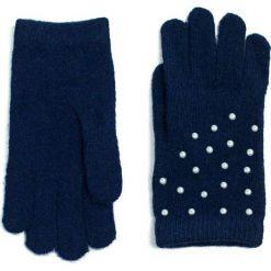 Rękawiczki damskie: Art of Polo Rękawiczki damskie plus perełki granatowe (rk15357)