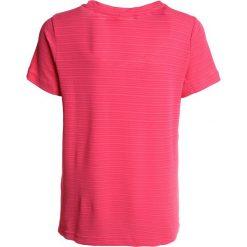 Adidas Performance CLIMACHILL Tshirt z nadrukiem real pink. Czerwone topy sportowe damskie marki adidas Performance, m. Za 129,00 zł.