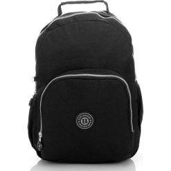 Uniwersalny Sportowy plecak Czerń. Czarne torby na laptopa marki Bag Street, z nylonu. Za 69,00 zł.
