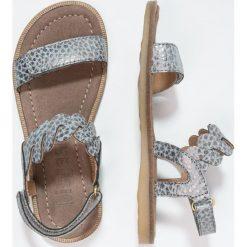 Bisgaard Sandały grey. Szare sandały chłopięce Bisgaard, z materiału, z otwartym noskiem. W wyprzedaży za 203,40 zł.