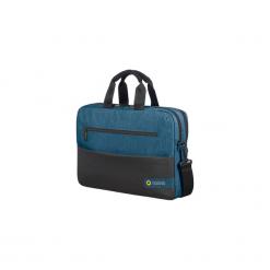 "Torba American Tourister do laptopa 15.6"" American Tourist 3 System City Drift niebieska. Niebieskie torby na laptopa American Tourister, w paski. Za 139,99 zł."