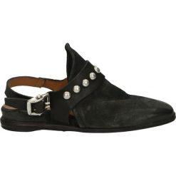 Sandały damskie: Sandały – 856101 NERO