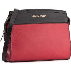 Torebka JENNY FAIRY - RH0534  Czerwony. Czarne listonoszki damskie marki Jenny Fairy, ze skóry ekologicznej. Za 79,99 zł.