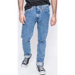 Levi's - Jeansy. Brązowe jeansy męskie slim marki Levi's®, z bawełny. W wyprzedaży za 229,90 zł.