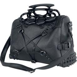Vixxsin Pentacult Bag Torebka - Handbag czarny. Czarne torebki klasyczne damskie Vixxsin, w paski, z tworzywa sztucznego. Za 144,90 zł.