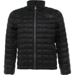 The North Face THERMOBALL  Kurtka zimowa black. Czarne kurtki chłopięce zimowe marki The North Face, z materiału. W wyprzedaży za 349,30 zł.