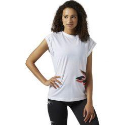 Koszulka Reebok LF Vintage (BS3663). Szare t-shirty damskie marki Reebok, l, z dzianiny, z okrągłym kołnierzem. Za 49,99 zł.