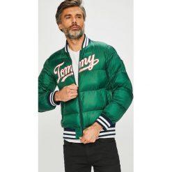 Tommy Jeans - Kurtka. Szare kurtki męskie bomber Tommy Jeans, l, z jeansu. Za 999,90 zł.