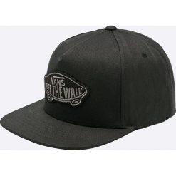 Vans - Czapka. Czarne czapki z daszkiem męskie marki Vans, z bawełny. Za 119,90 zł.