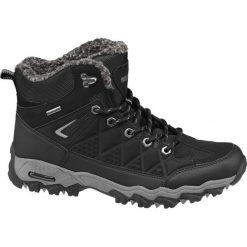 Trekkingowe buty męskie Highland Creek czarne. Czarne buty trekkingowe męskie Highland Creek, z materiału. Za 159,90 zł.