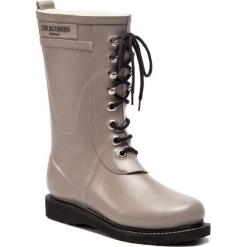 Kalosze ILSE JACOBSEN - RUB15 Atmosphere 149. Brązowe buty zimowe damskie marki Alma en Pena, z materiału, na obcasie. W wyprzedaży za 429,00 zł.