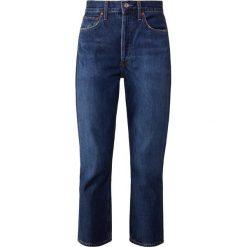 Agolde RILEY  Jeansy Straight Leg desolate. Niebieskie jeansy damskie Agolde. Za 959,00 zł.
