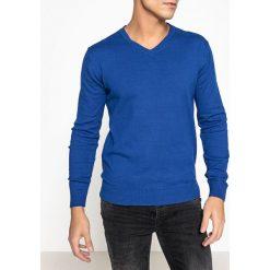 Swetry damskie: Sweter z dekoltem w kształcie V 100% bawełny