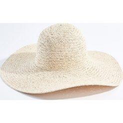 Kapelusze damskie: Lekki kapelusz z szerokim rondem - Beżowy