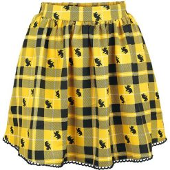 Harry Potter Hufflepuff Spódnica żółty. Żółte spódniczki Harry Potter, xl, w koronkowe wzory, z koronki. Za 121,90 zł.