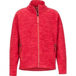 """Kurtka polarowa """"Lassen"""" w kolorze czerwonym. Czerwone kurtki dziewczęce marki Reserved, z kapturem. W wyprzedaży za 107,95 zł."""