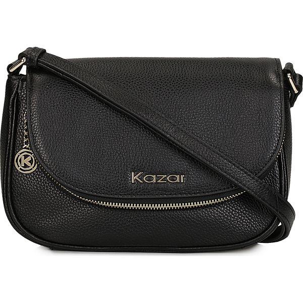 a019c5cf5e9c6 Czarna torebka przez ramię - Czarne torebki klasyczne damskie Kazar ...