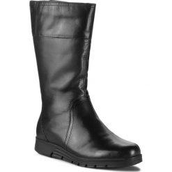 Kozaki CAPRICE - 9-26617-21 Black Nappa 022. Czarne buty zimowe damskie Caprice, ze skóry ekologicznej. W wyprzedaży za 299,00 zł.