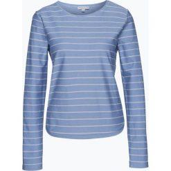 Bluzy damskie: Marie Lund – Damska bluza nierozpinana, niebieski
