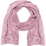 Różowy szalik QUIOSQUE. Niebieskie bez kategorii marki Name it, z haftami, z bawełny. W wyprzedaży za 19,99 zł.