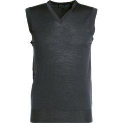 Swetry klasyczne męskie: J.LINDEBERG LYNFA TRUE  Sweter dk grey
