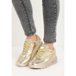 Złote Buty Sportowe Taylor. Żółte buty sportowe damskie marki NEWFEEL, z gumy. Za 59,99 zł.