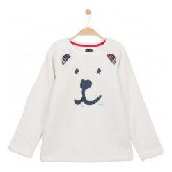 Bluzy dziewczęce rozpinane: Bluza przez głowę z futerkowego polaru dla dziewczynki 9-12 lat