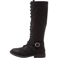 Head over Heels by Dune TIBBIE Kozaki sznurowane black. Czarne kowbojki damskie Head over Heels by Dune, z materiału. W wyprzedaży za 293,30 zł.