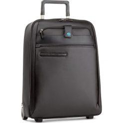 Mała Materiałowa Walizka PIQUADRO - BV2507SI2 Czarny. Czarne torebki klasyczne damskie Piquadro, z materiału, małe. W wyprzedaży za 859,00 zł.