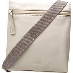 """Skórzana torebka """"Vora 1"""" w kolorze szarym - 18,5 x 21 x 5,5 cm. Szare torebki klasyczne damskie BREE, w paski, z materiału. W wyprzedaży za 250,95 zł."""
