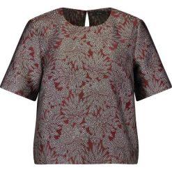 Bluzki asymetryczne: KIOMI Bluzka red & silver