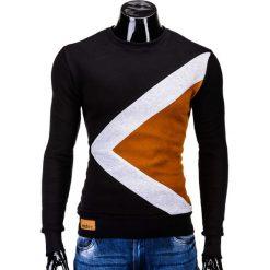Bluzy męskie: BLUZA MĘSKA BEZ KAPTURA ERICO B575 – CZARNA