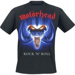 Motörhead Rock 'n' Roll T-Shirt czarny. Czarne t-shirty męskie Motörhead, m. Za 74,90 zł.