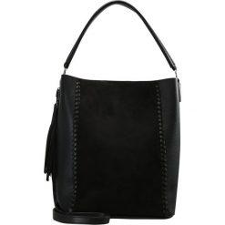 New Look IVY WHIPSTITCH TASSEL Torba na zakupy black. Czarne shopper bag damskie marki New Look, z materiału, na obcasie. Za 149,00 zł.
