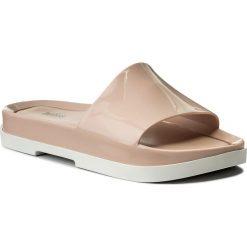 Chodaki damskie: Klapki MELISSA - Beach Slide Platform A 32350 White/Pink 50600