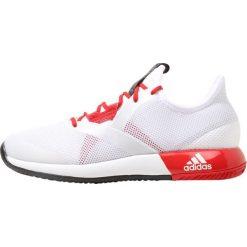 Buty do tenisu damskie: adidas Performance ADIZERO DEFIANT BOUNCE  Obuwie do tenisa Outdoor white